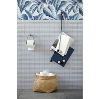 Toilet Roll Holder - Wood Smoke